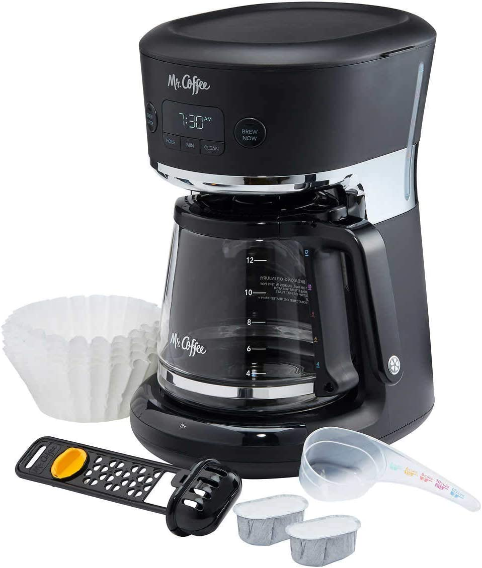 Mr. Coffee Easy Measure 12 cup Programmable Coffee Maker, Water Filtration System