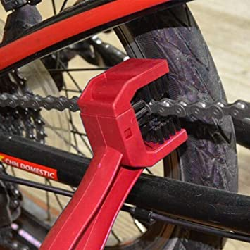 Nozdom Cepillo para Limpiar la Cadena de Las Moto Bicicleta Bici ...
