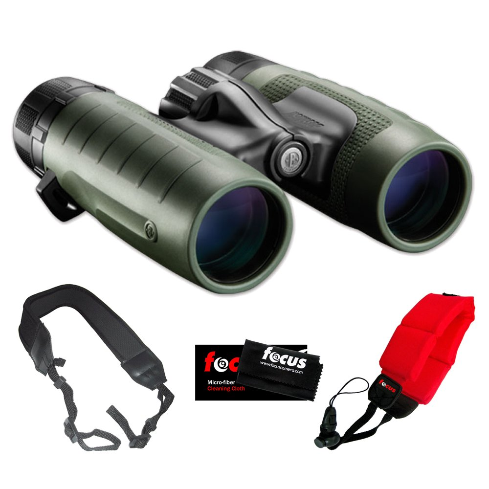 Bushnell 232810 Trophy XLT 10 x 28 mm双眼鏡+ Zeikos Wideストラップ+アクセサリキット B00E0OD7ZW