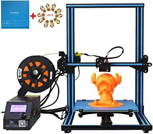 CCTREE Creality CR-10S DIY Desktop 3D Printer Kit Large Printing Size 300x300x400mm 1.75mm 0.4mm Nozzle With Filament Detector and the Dual Z Axis