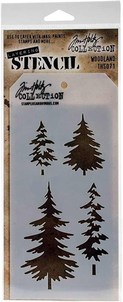 Tim Holtz Layering Stencil THS060 AUTUMN Stampers Anonymous
