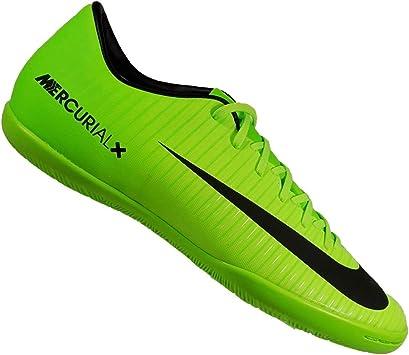 pastor para justificar cortina  Chuteira Nike Mercurial Victory 6 Futsal Verde Masculina 39: Amazon.com.br:  Esportes e Aventura