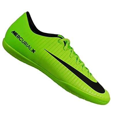 20a451734b0 Nike Mens Mercurial Victory VI Indoor Shoes  Electric Green  (9)