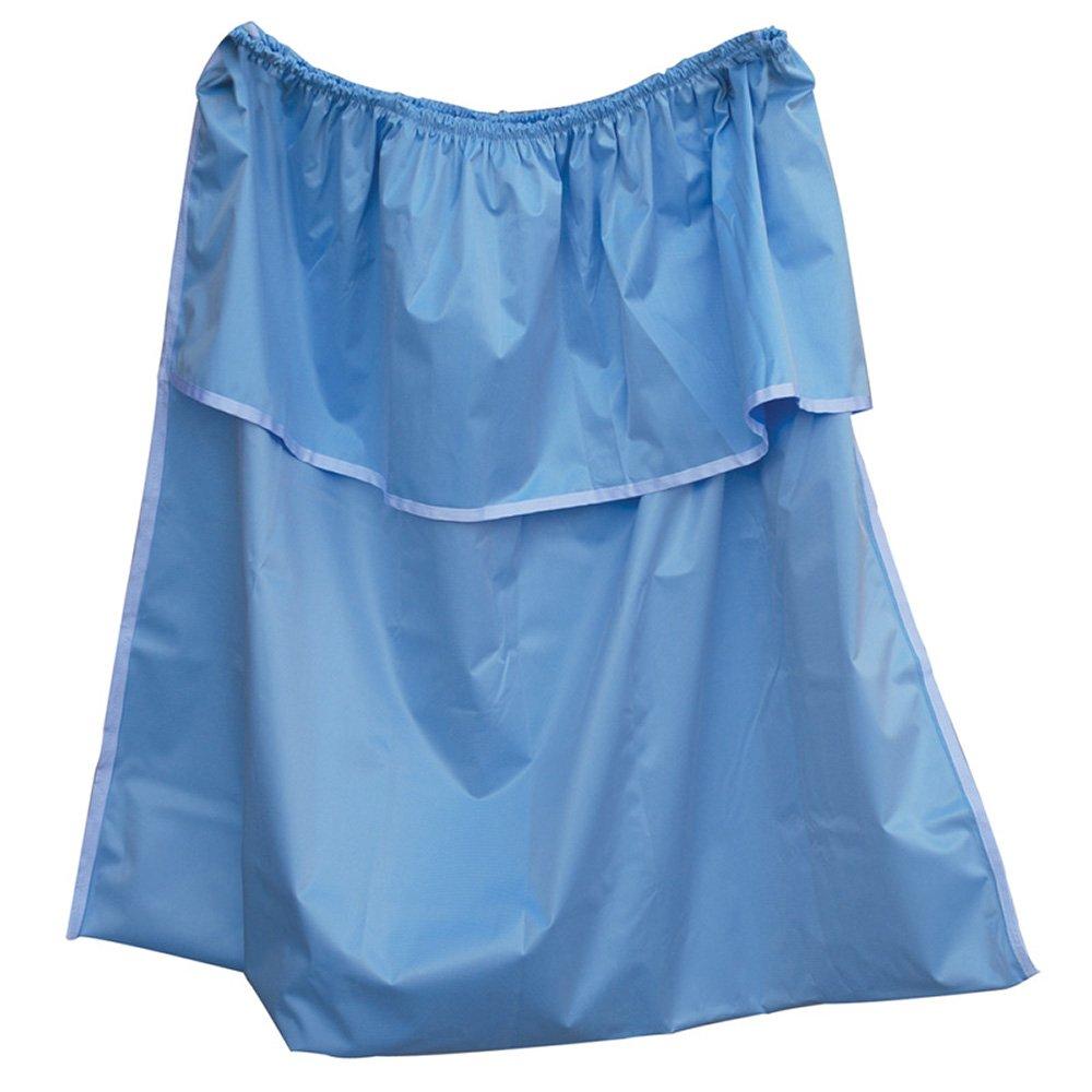 MJM International 214-LP Leak Proof Bag For Small Hamper, 22 oz Capacity, Light Blue/Mint Green/Mauve/White