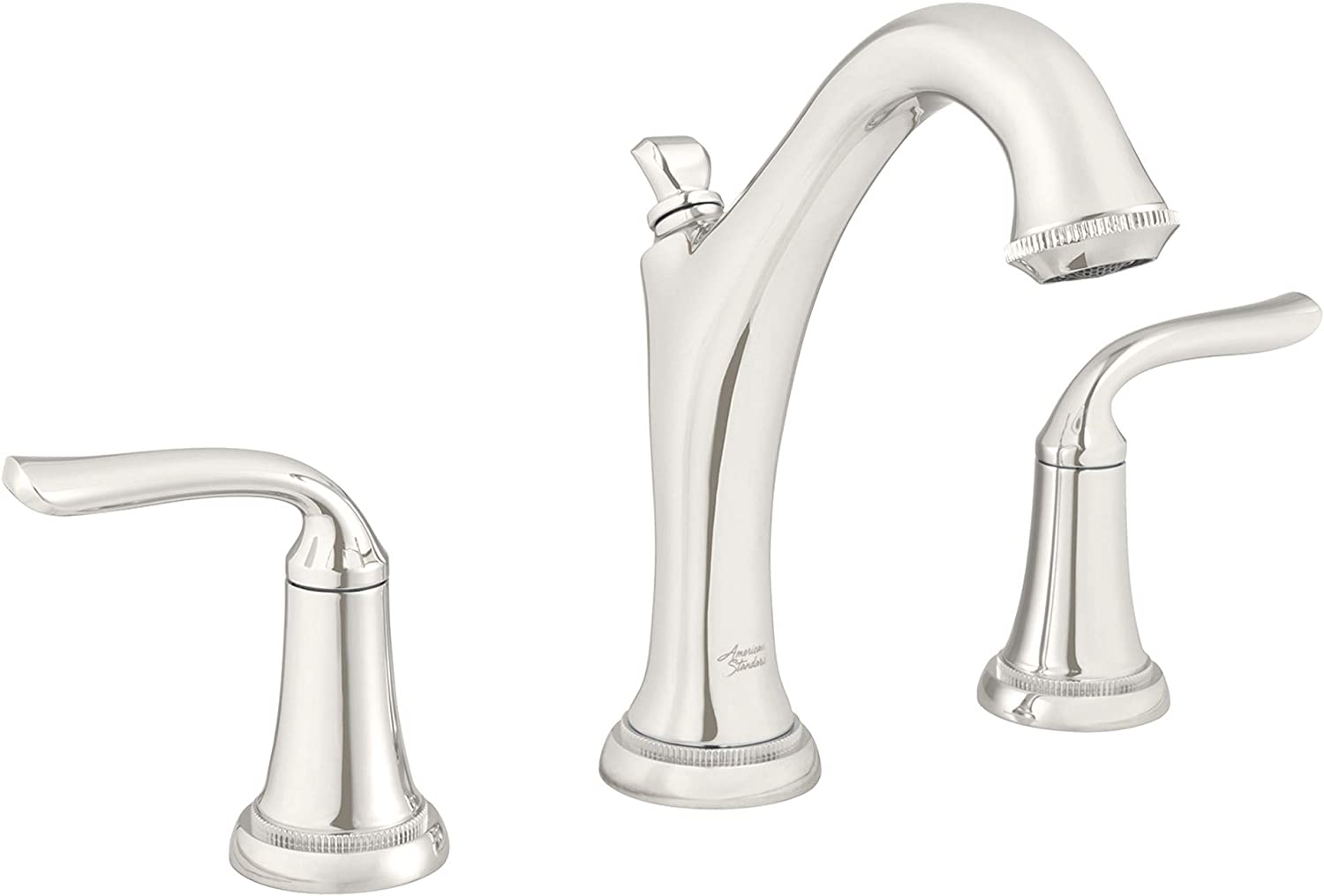 American Standard 7106801.013 Patience Widespread Bathroom Faucet, Polished Nickel