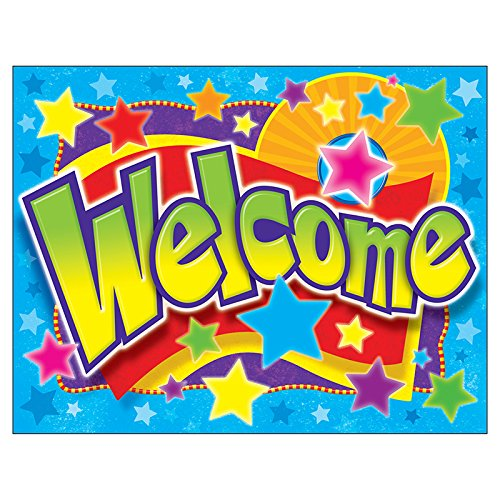 - TREND enterprises, Inc. Welcome Stars Learning Chart, 17