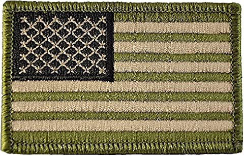 Tactical USA Flag Patch 2