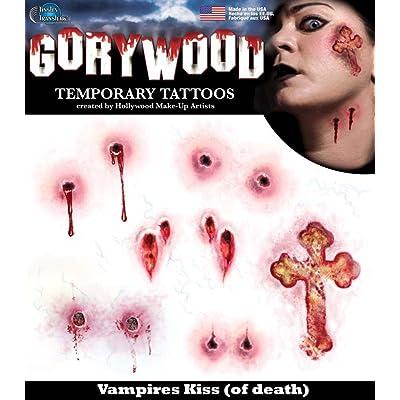 Tinsley Transfers Temporary Tattoo - Vampire Kiss: Toys & Games
