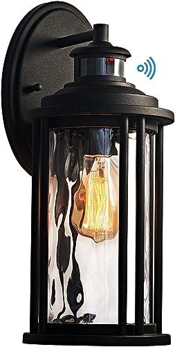 MOTINI 1-Light Outdoor Wall Sconce Lantern