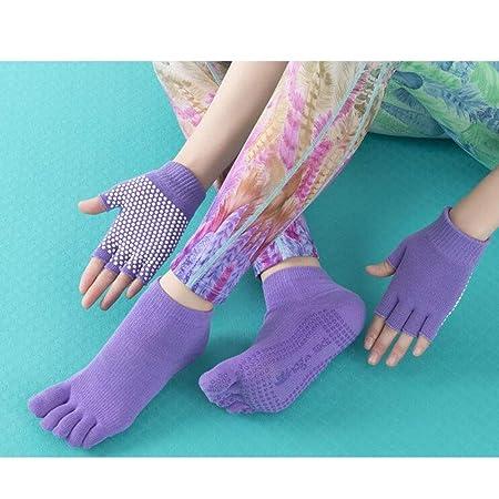 Chenjinxiangou01 Calcetines de Yoga, Guantes de Yoga de ...
