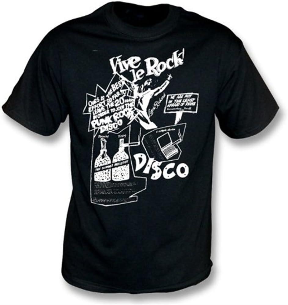 Vive Le Rock T-Shirt colorea Negro