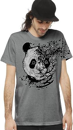 Camiseta de algodón Estampada con Arte gráfico Original psicodélico - Ropa Urbana para Hombre: Amazon.es: Ropa y accesorios