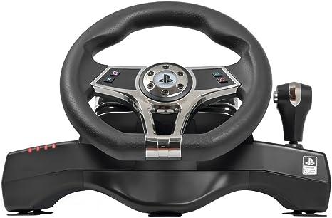 Xtreme Volante con Pedaliera Hurricane Licenza Sony - Classics - PlayStation 4 [Importación italiana]: Amazon.es: Videojuegos