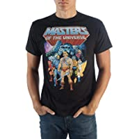 Bioworld Masters of The Universe Group Photo Adult T-Shirt
