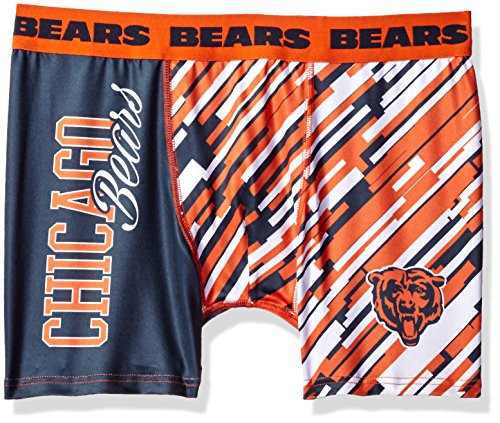 (Chicago Bears Wordmark Underwear Small)