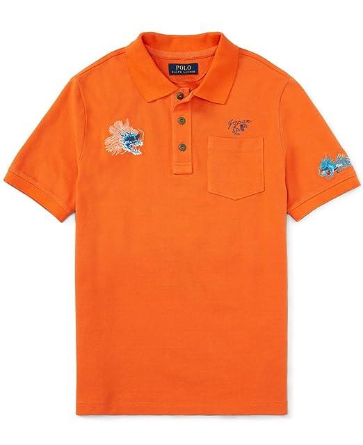 03dd9e00 Ralph Lauren Boys Dragon Embroidered Japan Polo Shirt (7): Amazon.ca:  Clothing & Accessories