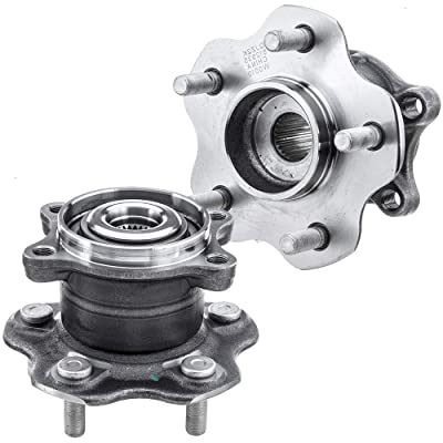 [2-Pack/Pair] 512535 - REAR Wheel Hub Bearing Assembly for [AWD Models ONLY] 2014-17 Nissan Juke, 2020-19 Nissan Qashqai, 2014-19 Nissan Rogue, 2014-15 Nissan Rogue Select, 2020-19 Nissan Rogue Sport: Automotive