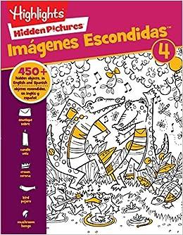 Hidden Pictures Imagenes Escondidastm 4 Highlightstm Bilingue