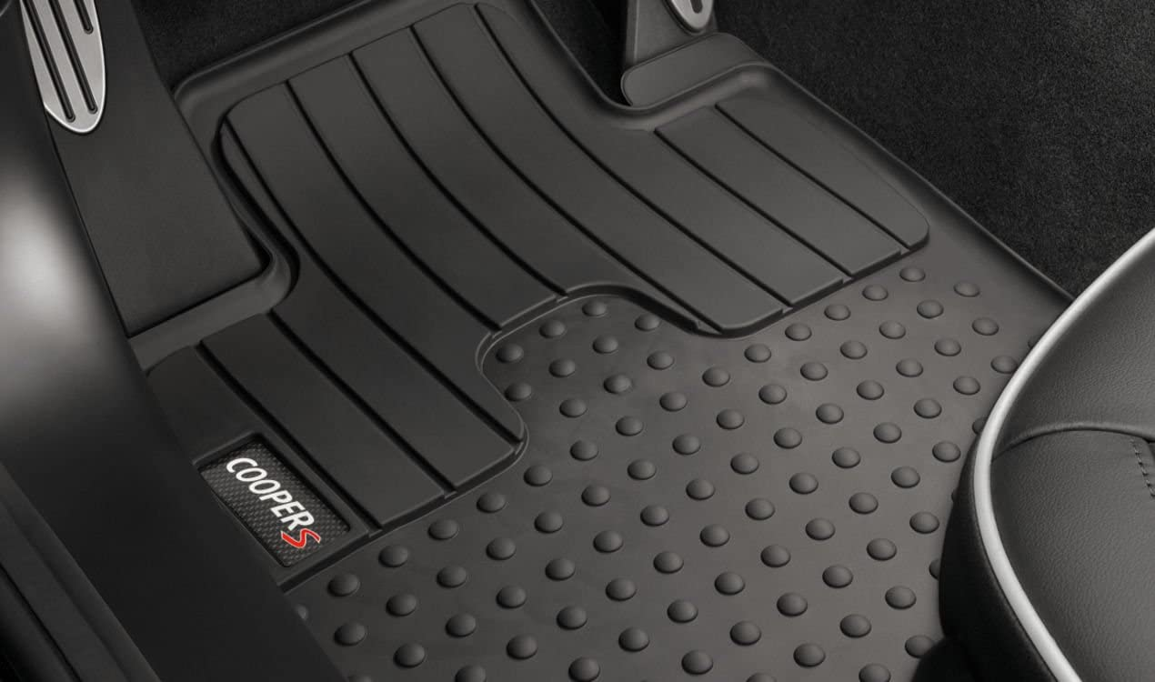 MINI Genuine All Weather Floor Mats Set Rear For R60 R61 51472181810