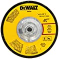 DEWALT DW4548 7-Inch by 1/4-Inch by 5/8-Inch-11 High Performance Fast Metal Grinding Wheel