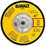 "DEWALT DW4548 7"" X 1/4"" X 5/8""-11 High Performance Fast Metal Grinding Wheel"