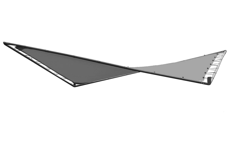 OUTFLEXX Butterfly Ersatzdach, grau, Polyester, 350 x 350 cm