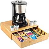 MISSJOY coffee pod holder, coffee pod organizer tea organizer to hold Espresso Pods, Coffee, Tea storage for Kitchen Office B