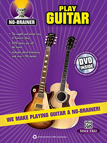 No-Brainer Play Guitar: We Make Playing Guitar a No-Brainer! (Book & DVD) ()