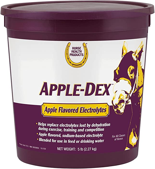 Horse Health Apple-Dex Apple Flavored Electrolytes, 5 lb