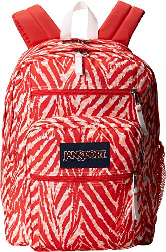 JanSport Unisex Big Student Coral Peaches Wild At Heart One Size (Teen Backpacks Jansport)