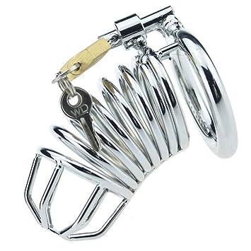 Jaula de castidad con anillo de pene, dispositivo de castidad ...