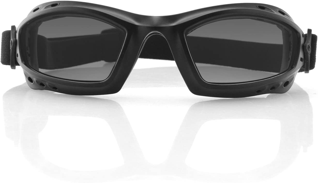 Bobster Bala Goggles Black w//Clear Lens BBAL001C