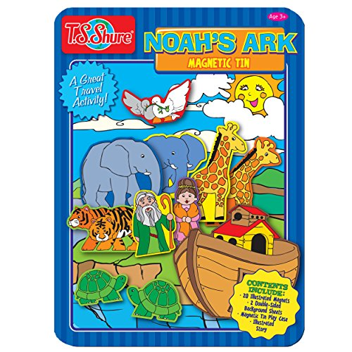 k Magnetic Tin Playset (Noahs Ark Magnet)