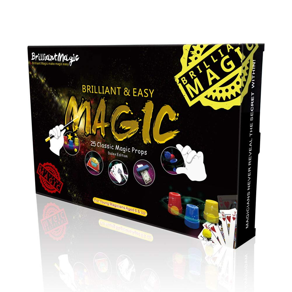 Magic Set Magic Kit For Kids Science Toys for Children Including 25 Classic Tricks Easy To Play Magic Best Gift For Boys Girls and Adult by PINKYSTAR (Image #2)