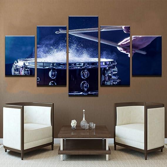 Decoración para el hogar Moderno Arte de la Pared 5 Panel Bandera de la Fuerza Aérea Americana Sala de Estar Lona HD Impresión Pintura Modular Cuadros Marco del Cartel 8 40x60 40x80