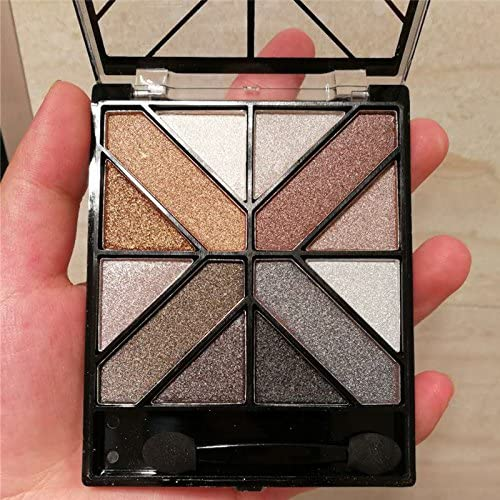 LadyBeauty 8 Colores Shimmer Eyeshadow Palette Matte Eye Shadow ...