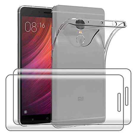 Amazon.com: 3 en 1 para Xiaomi Redmi Note 4/Note 4X Funda + ...
