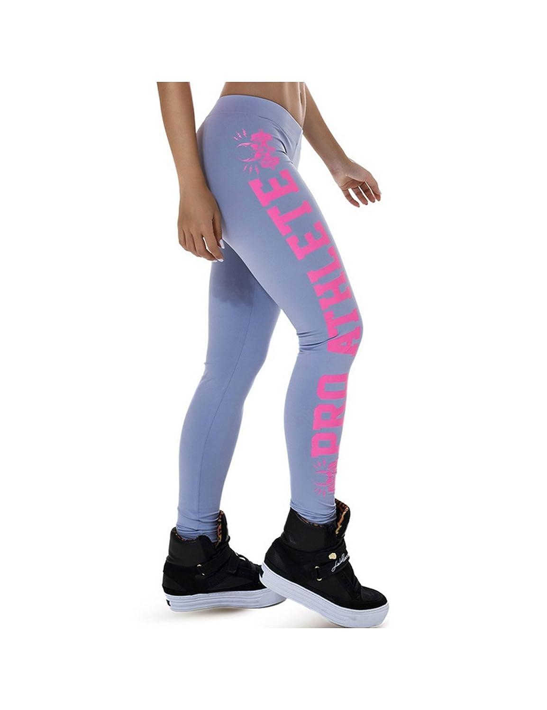 Zacoo Graphic Print Sport Yoga Gym Fitness Workout Gamaschen Hosen