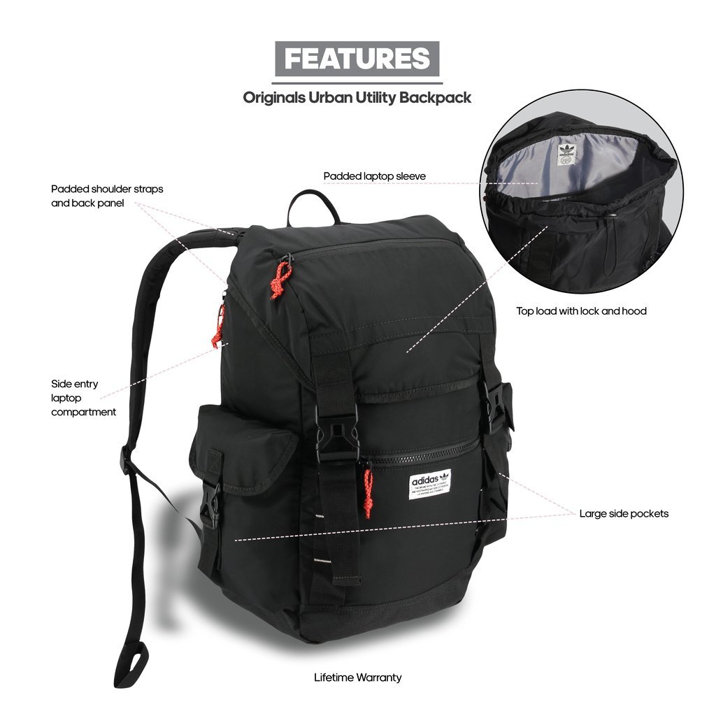 amazon exclusive shoes new style adidas Urban Utility Backpack: Amazon.in: Sports, Fitness & Outdoors