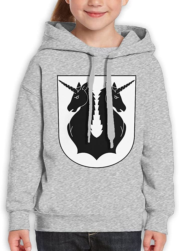DTMN7 Crest New Style Printed O-Neck Hoodie For Boy Spring Autumn Winter