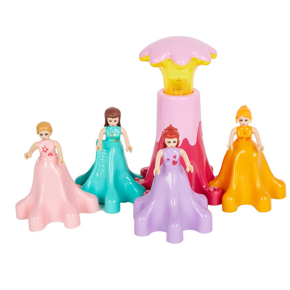 COLORTREE Block Gear Princess Paradise Toy for Girls