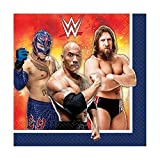WWE Party Lunch Napkin 16 Ct [5 Retail Unit(s) Pack] - 511467