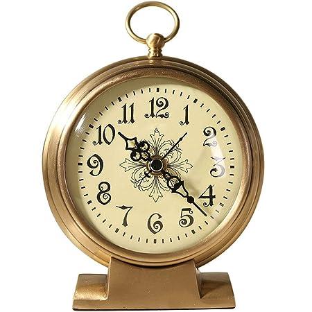 PQW Bright Despertadores mecánicos Reloj de Mesa Cerradura ...