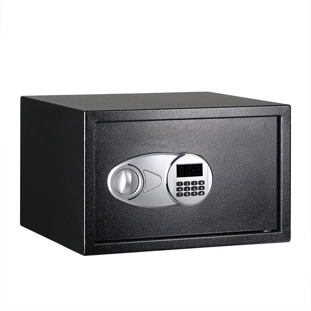 AmazonBasics - Caja fuerte (34 l), color negro