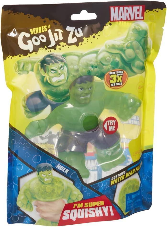 Heroes de Goo Jit Zu - Figura Acción Marvel (HULK)
