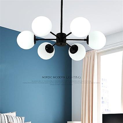 Led Modern Chandelier Novelty Fixtures Nordic Hanging Lights Restaurant Pendant Lamps Bedroom Lighting Living Room Chandeliers Ceiling Lights & Fans