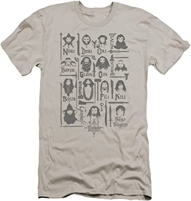 The Hobbit Goblin King Adult Work Shirt