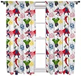 Marvel Avengers 'Mission' 72 inch Drop Curtain Set