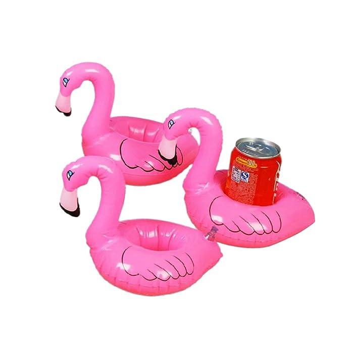 Amazon.com: Magideal 3 Color rosa piscina hinchable tropical ...