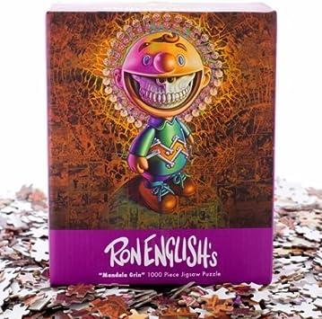 Ron English Mandala Grin Jigsaw Puzzle by TOTT: Amazon.es ...